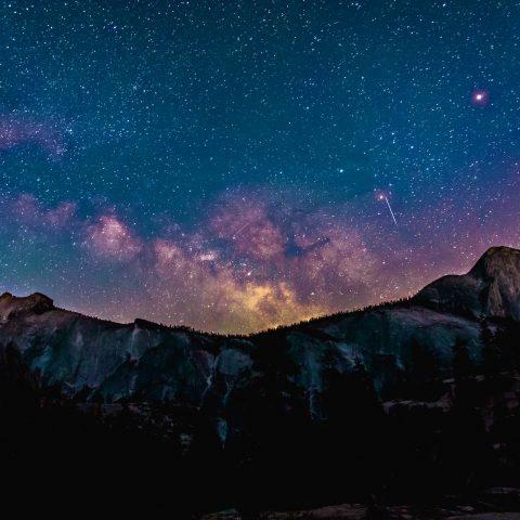 bunter Sternenhimmel